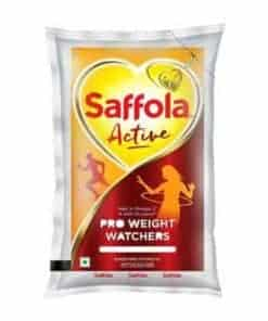 Saffola-Active-Edible-Oil-Pouch-1lt