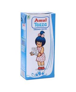 Amul-Tazza-Toned-Milk-Tetra-Pack,-1-L