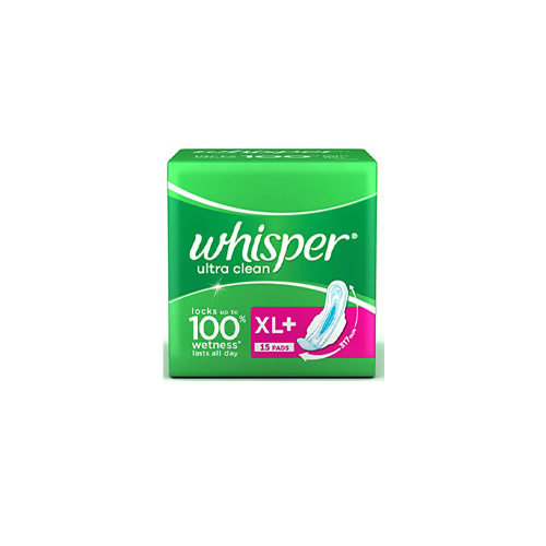 Whisper-Choice-Ultra-Sanitary-Napkin-XL-With-Wings-15-Pads