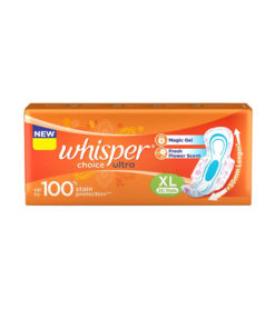 Whisper-Ultra-Clean-Sanitary-Napkin-XL-With-Wings-20-Pads