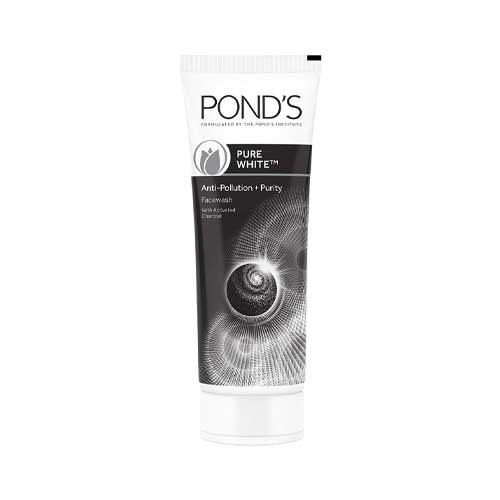Pond's-Pure-White-Anti-Pollution-With-Activated-Charcoal-Facewash,-100g
