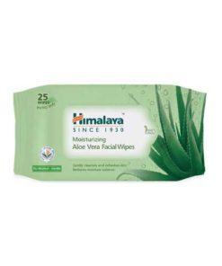 Himalaya-Moisturising-Aloe-Vera-Facial-Wipes,-25-Count