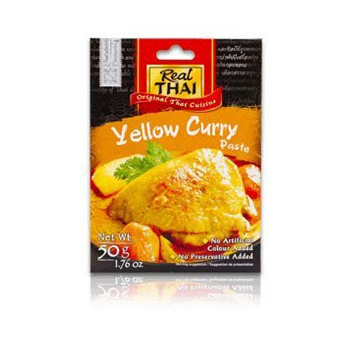 Real-Thai-Yellow-Curry-Paste-50g