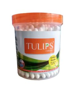 Tulips-Cotton-Ear-Buds-Swabs-100-Sticks