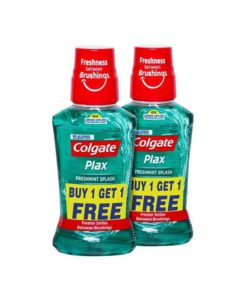 Colgate-Plax-Freshmint-Splash-Mouthwash-–-250-ml-(Buy-1-Get-1-Free)
