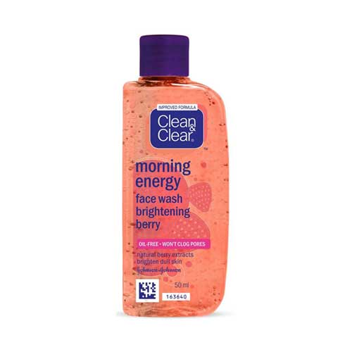Clean & Clear Morning Energy Brightening Berry Face Wash 50ml