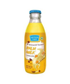 Mother-Dairy-Haldi-Milk,-180-Ml-Bottle