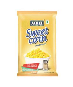 Act II Sweet Corn Chat Masala Popcorn 121g