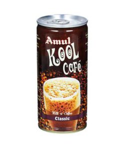 Amul Kool Cafe Classic Flavoured Milk 200ml Can