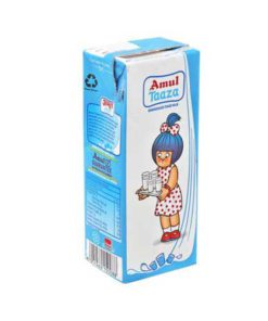 Amul Tazza Toned Longlife Milk 200ml Tetra Pack