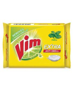 Vim-Extra-Anti-Smell-Pudina-Dishwash-Bar-130g
