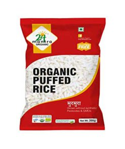 24 Mantra Organic Puffed Rice 200g