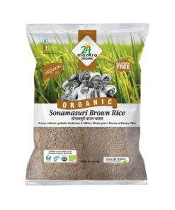 24 Mantra Organic Sona Masuri Brown Rice 1kg