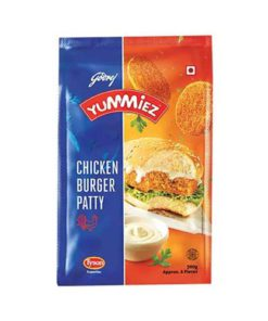Yummiez Chicken Burger Patty 300g