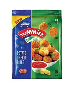 Yummiez Potato Cheese Bites, 400 g Pouch Pack