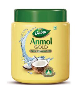 Dabur-Anmol-Gold-Coconut-Oil-Jar-175ml