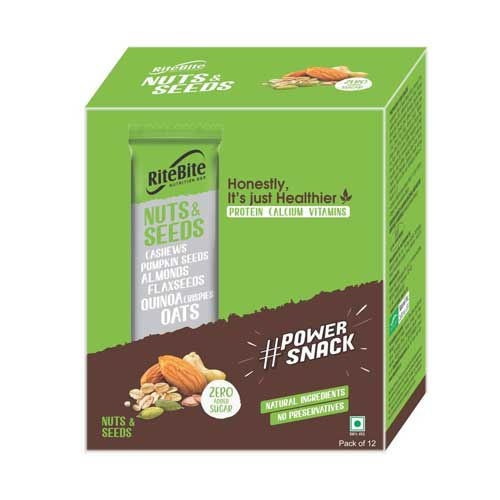 RiteBite-Nuts-and-Seeds-Bar-Pack-of-12-420g-