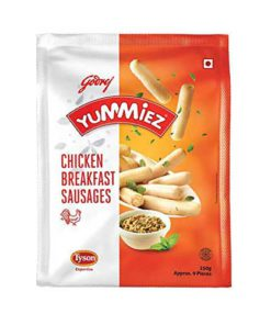 Yummiez Chicken Breakfast Sausages 250g