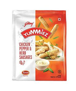 Yummiez-Chicken-Pepper-&-Herb-Sausages-250g