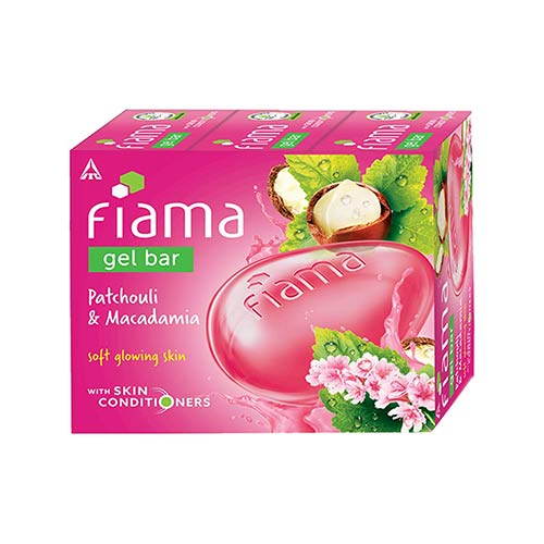 Fiama-Gel-Bar-Patchouli-and-Macadamia-for-soft-glowing-skin,-with-skin-conditioners,-125-g-(Pack-of-3)
