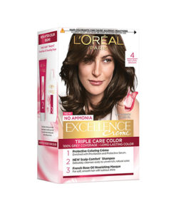 L'Oreal-Excellence-Creme-4-Natural-Brown;72-ml-+-100-gms-Free;-1Unit